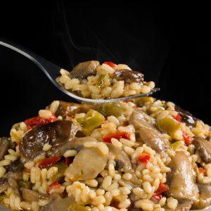 arroz-con-setas-verduras